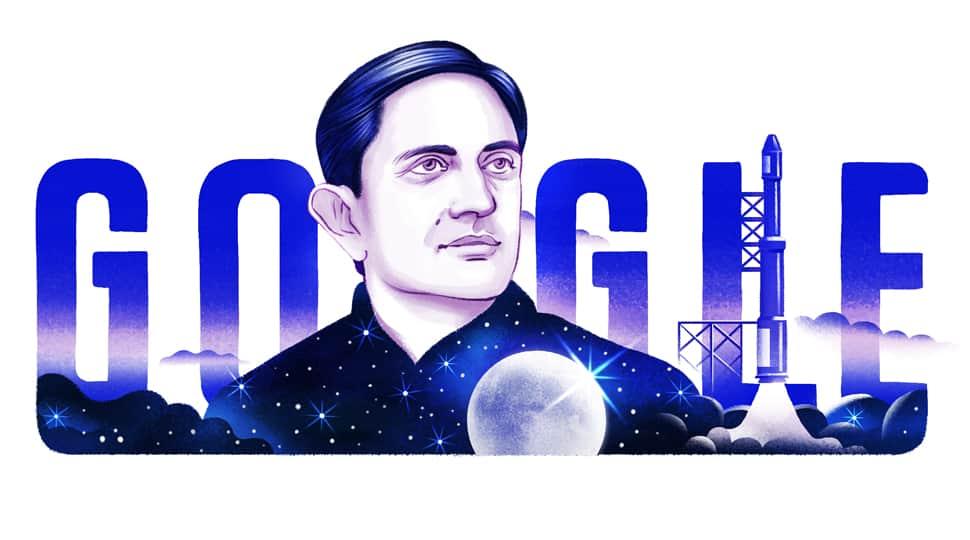 Google Doodle celebrates 100th birth anniversary of ISRO founder Vikram Sarabhai