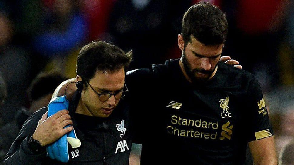 Liverpool's Alisson Becker out injured for 'next few weeks', says Jurgen Klopp