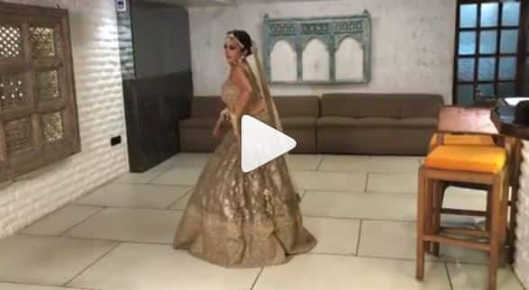 Monalisa's dance on Saaho song 'Psycho Saiyaan' goes viral-Watch