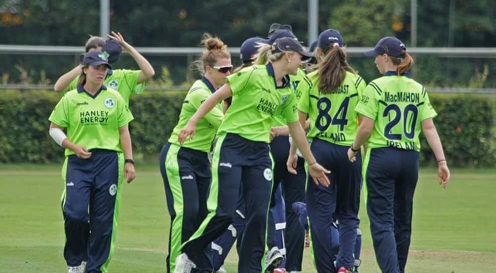 Women's T20I Quadrangular Series: Ireland's record-breaking day cut short by rain