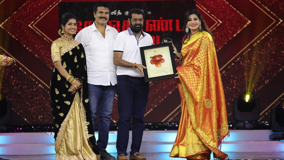 Zee Tamil celebrates the success of Sembaruthi