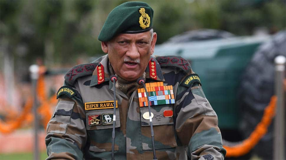 Indian Army Chief General Bipin Rawat says it's adversary's wish to activate LoC, adds his troops are prepared