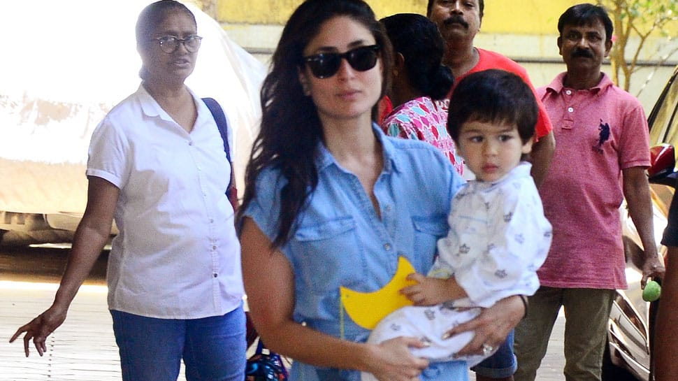 Pic of Kareena Kapoor chilling in London with Taimur is the cutest thing on internet today