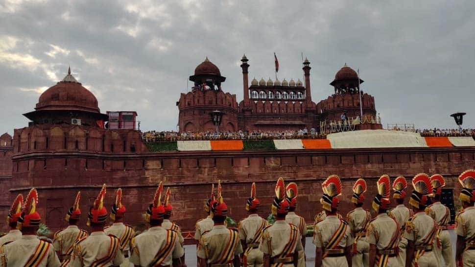 73rd Independence Day celebrations at Red Fort