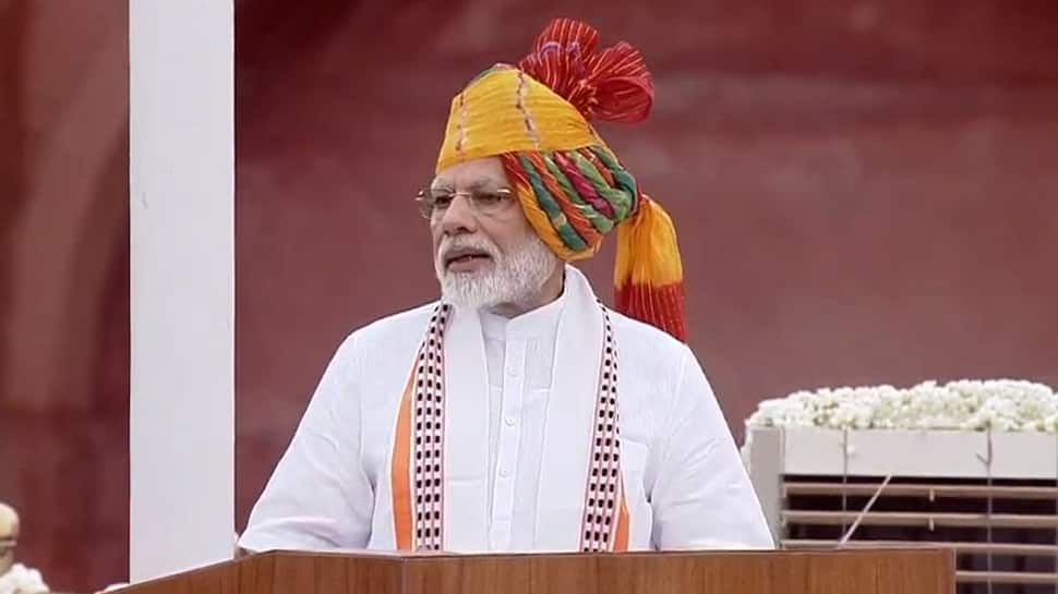 PM Modi's 1st Independence Day speech of second term: Key points