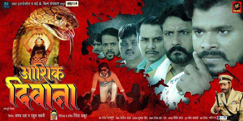 Pramod Premi-Kriti Pathak's 'Aashiq Deewana' trailer unveiled - Watch