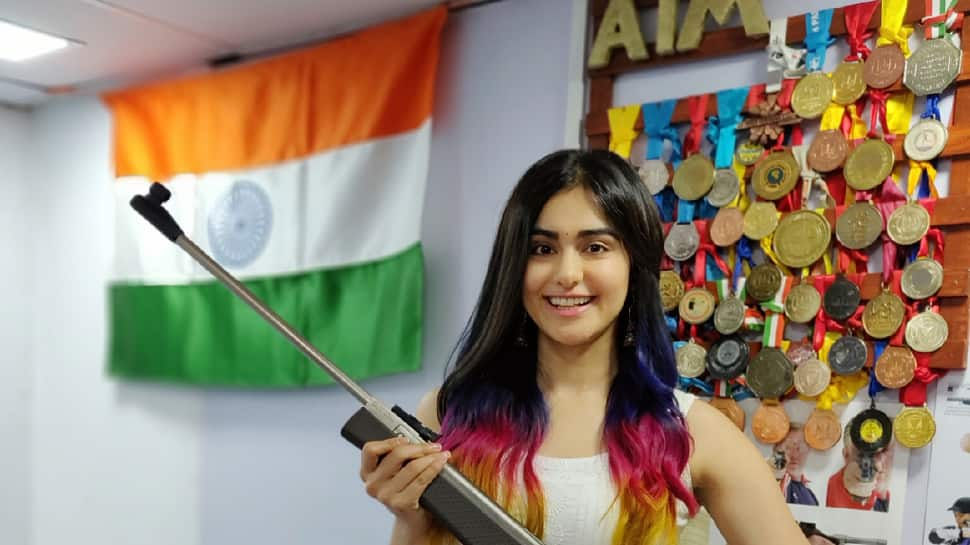 Adah Sharma impresses with her sharpshooting skills, wishes Independence Day in a unique way—Watch
