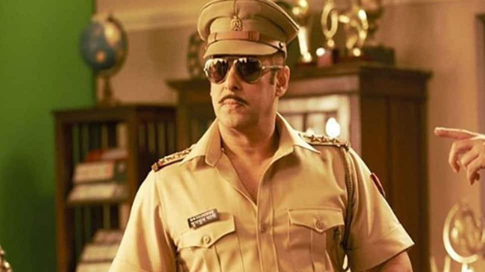 Salman Khan shoots 'Dabangg 3' in Jaipur amid heavy rainfall, shares on-set video—Watch