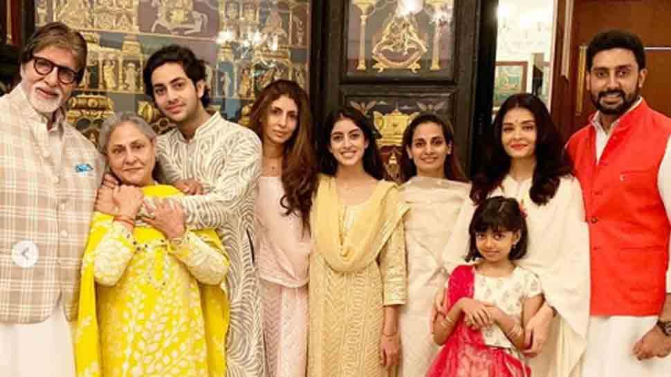 This is how Aishwarya Rai celebrated Raksha Bandhan with Bachchans and Rais — Pics