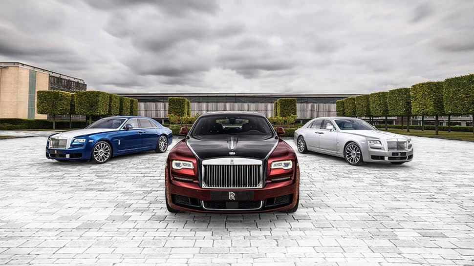 Rolls Royce announces Ghost Zenith Collection, limited to only 50 editions
