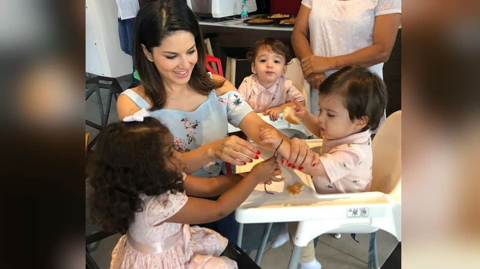 All about Sunny Leone and her kids Nisha, Noah and Asher's 'special' Raksha Bandhan day