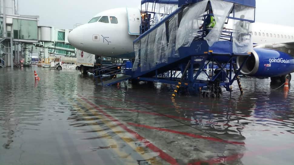 Flight operation resume at Kolkata Airport after heavy rains lash the city