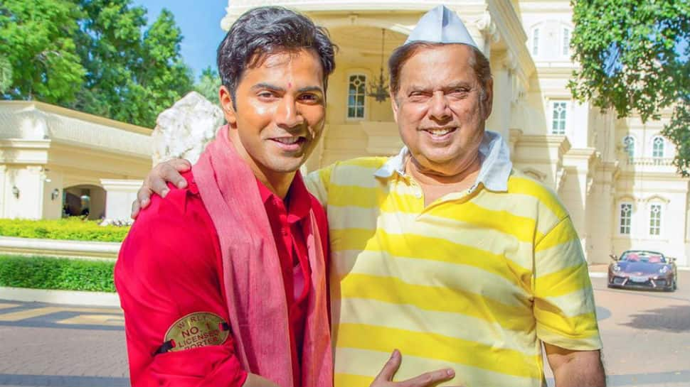 Varun Dhawan wishes father David Dhawan on birthday with a 'Coolie No. 1' zinger