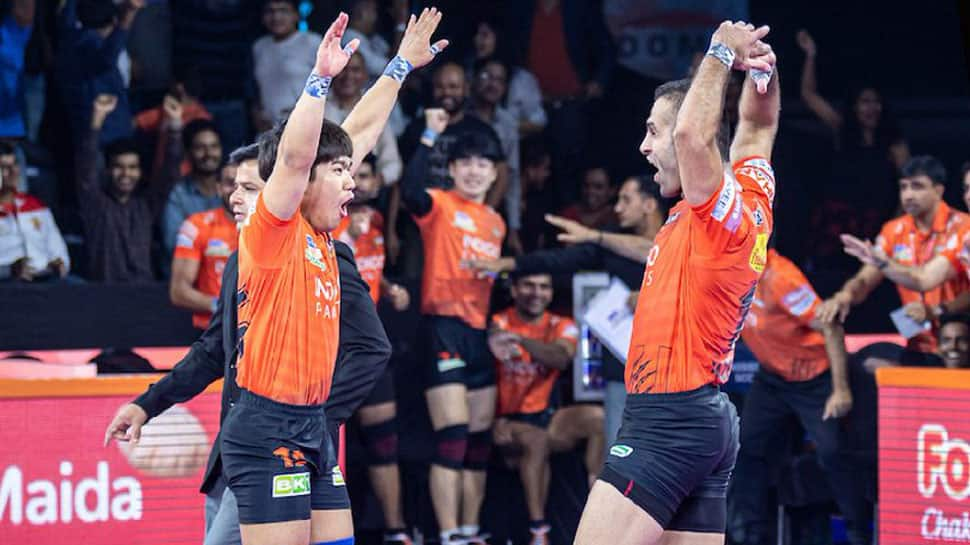 PKL 7: U-Mumba beat Patna Pirates in nail-biter