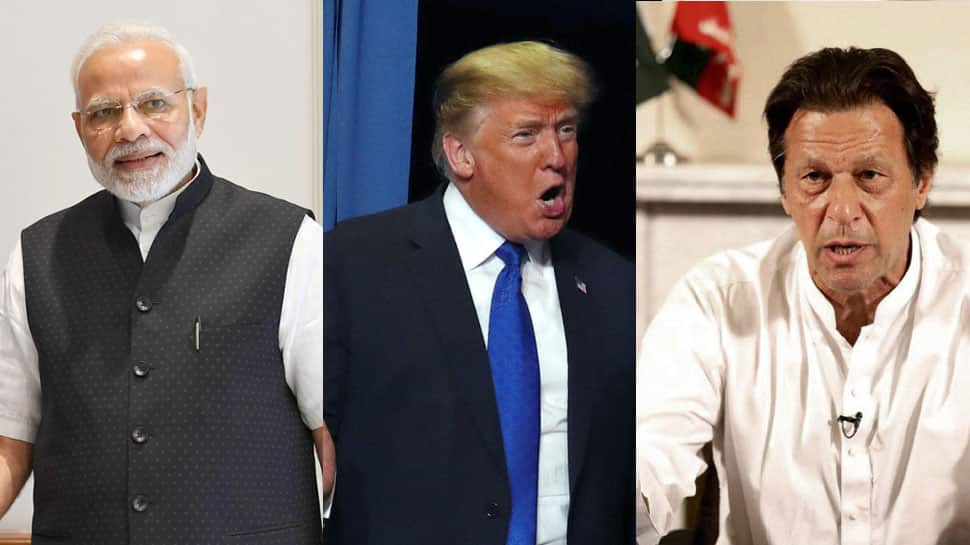 Donald Trump asks Imran Khan to resolve issues via bilateral talks with India