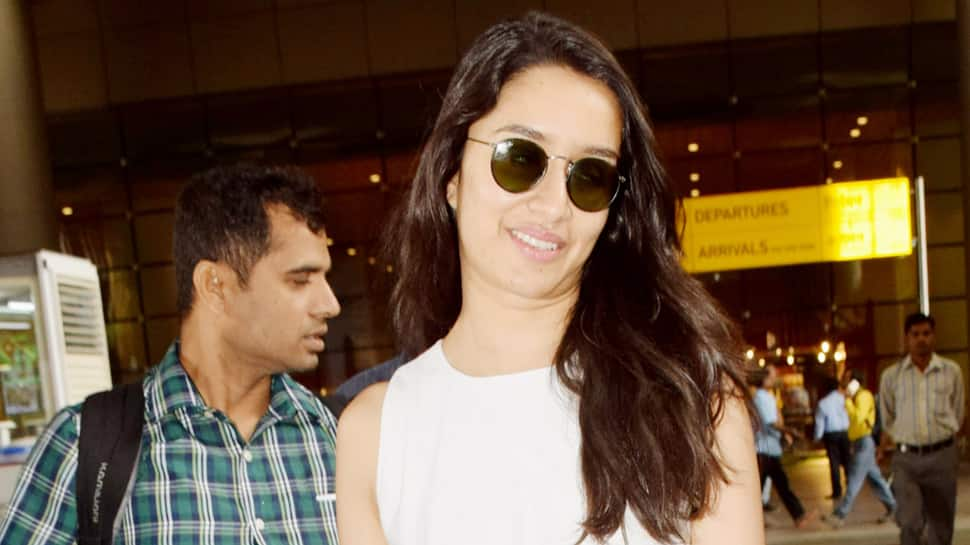 'Saaho' actress Shraddha Kapoor makes a style statement at the airport—Pics