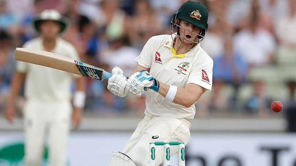 Steve Smith leaves fans in splits with unique technique--Watch