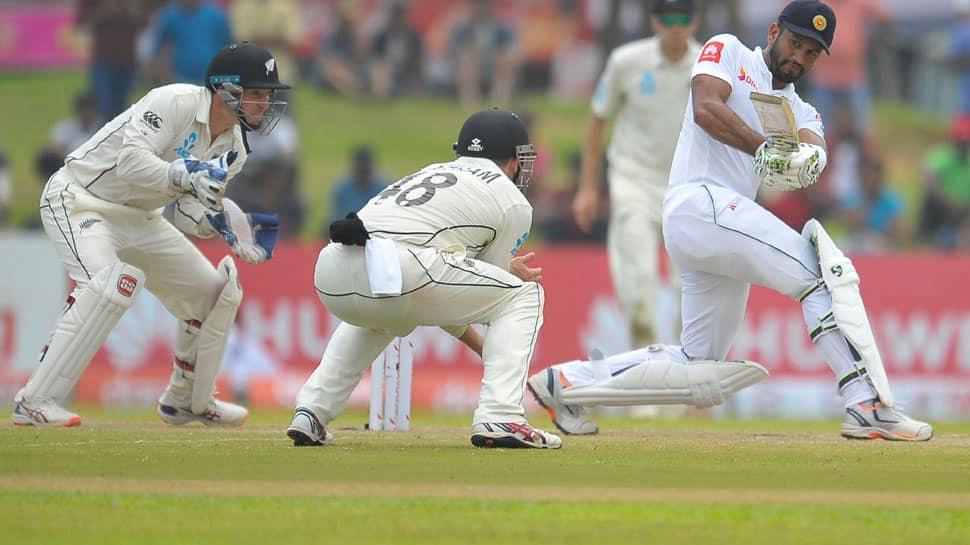 Dimuth Karunaratne leads Sri Lanka victory push in Galle