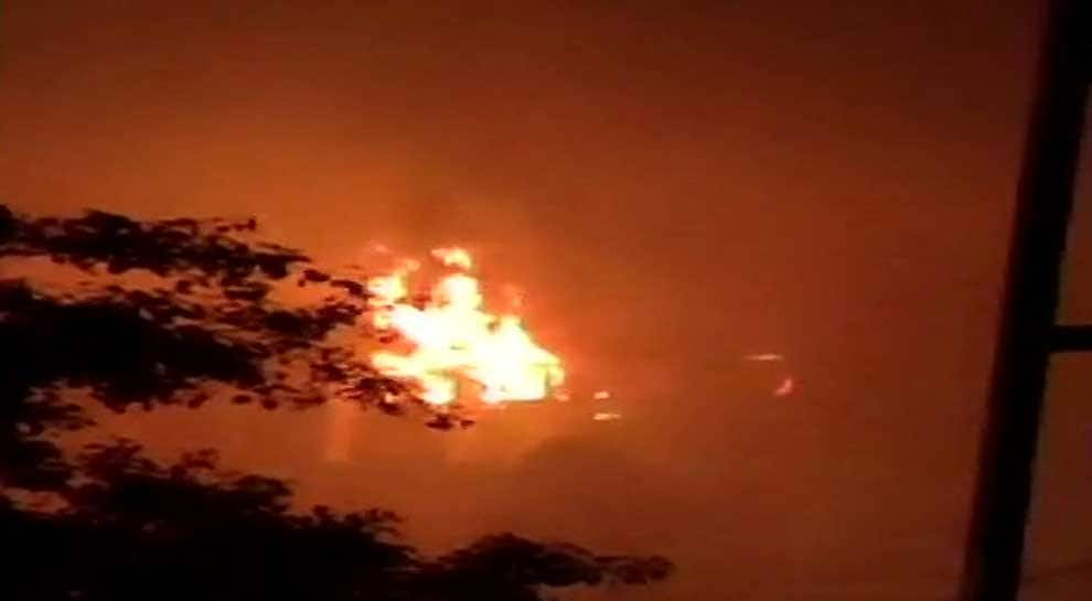 AIIMS Delhi helpline number - 011-26593308 - as massive fire rages on