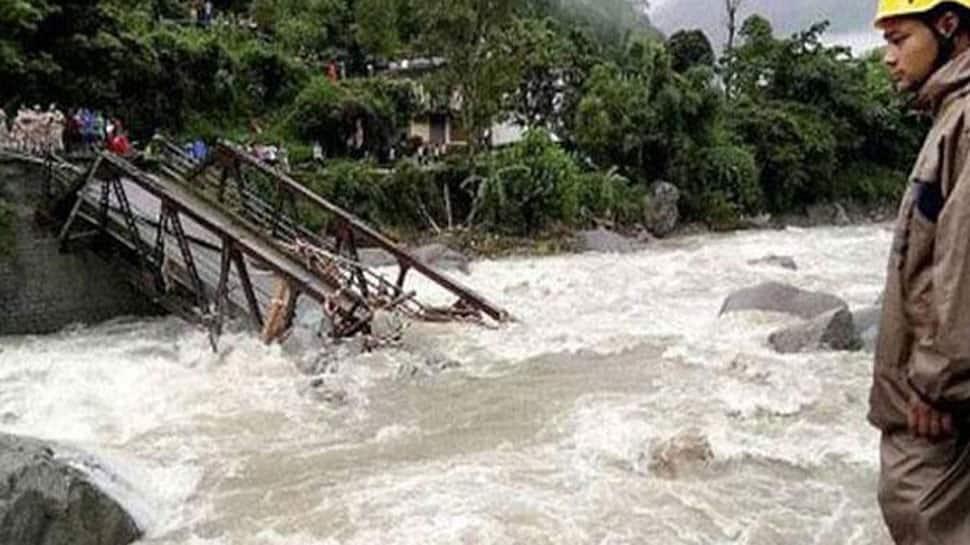 5 people missing, several houses damaged after cloudburst in Uttarakhand's Uttarkashi