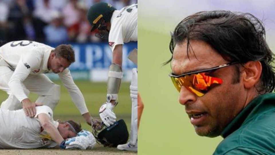 Shoaib Akhtar lashes out at Jofra Archer for not checking up on injured Steve Smith