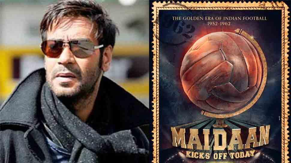 Maidaan first look: Ajay Devgn to play football coach Syed Abdul Rahim in sports drama