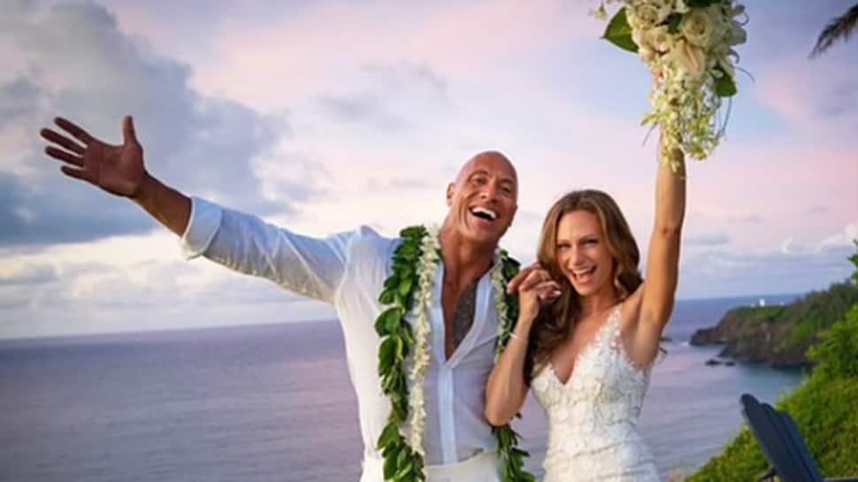 Dwayne Johnson marries longtime bae Lauren Hashian
