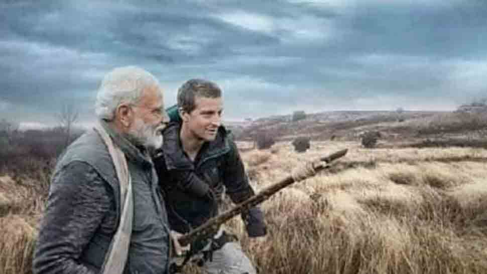 PM Narendra Modi's Man vs Wild becomes most trending televised event, claims Bear Grylls