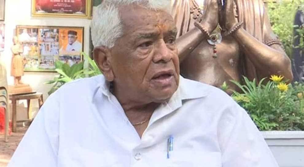 Babulal Gaur, former MP chief minister and senior BJP leader, dies in Bhopal