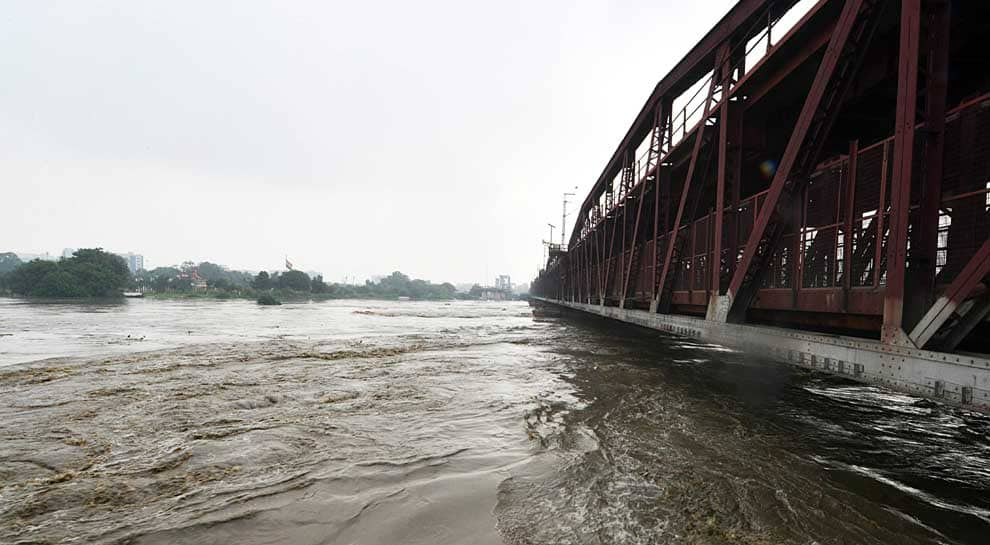 Several trains diverted as water level in Yamuna crosses 'danger mark'