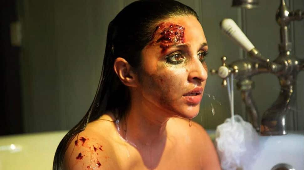 'The Girl On The Train' first look: Parineeti Chopra's bruised face and intense stare will scare you as heck