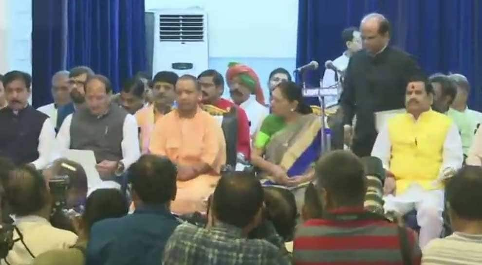 23 MLAs take oath as ministers as CM Yogi Adityanath expands UP cabinet