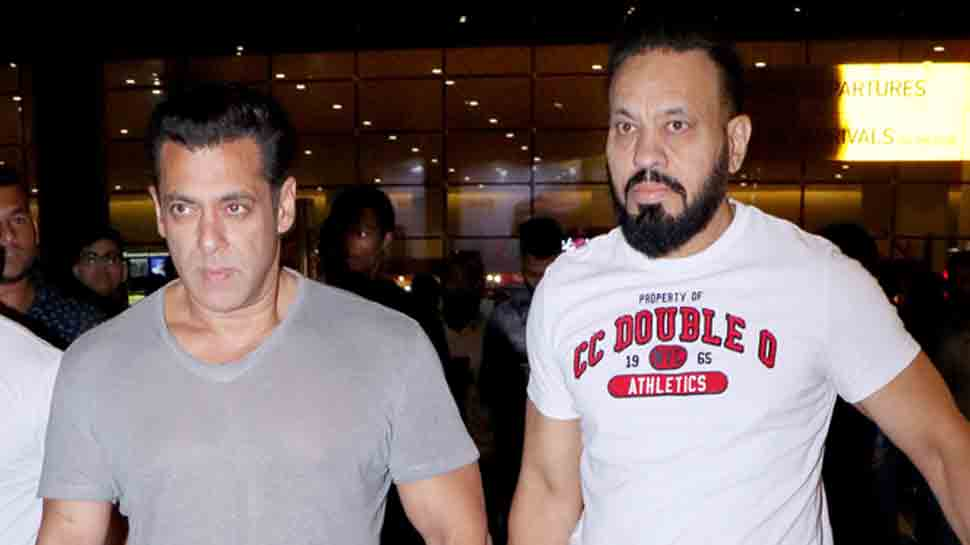 Salman Khan arrives back in Mumbai post shooting for 'Dabangg 3' in Jaipur
