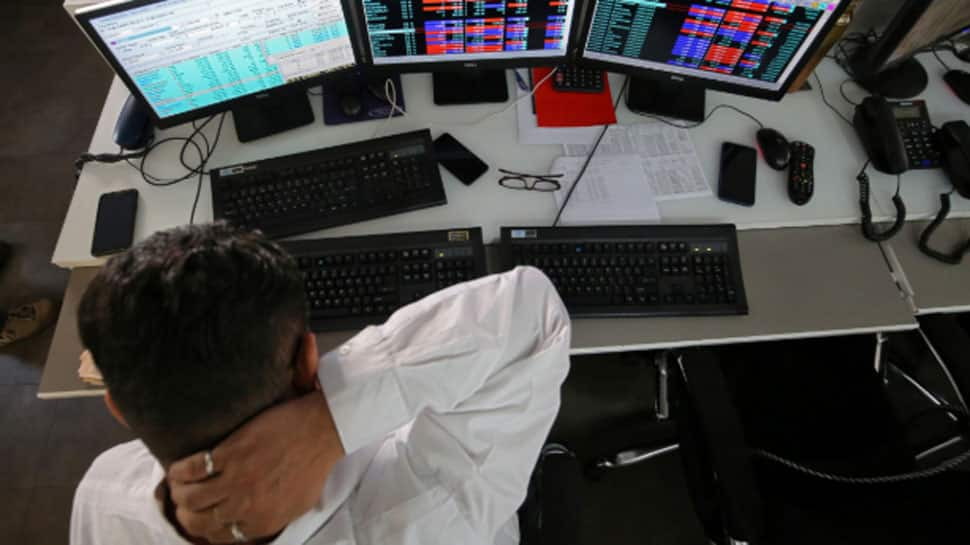 Sensex closes 267 points down, Nifty slips below 11,000
