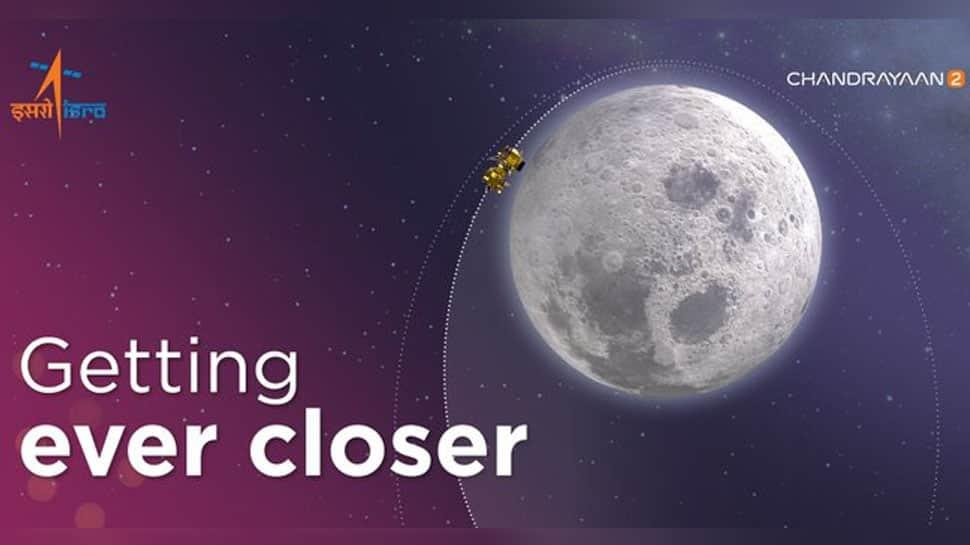 Chandrayaan-2 successfully enters Moon's second orbit, confirms ISRO
