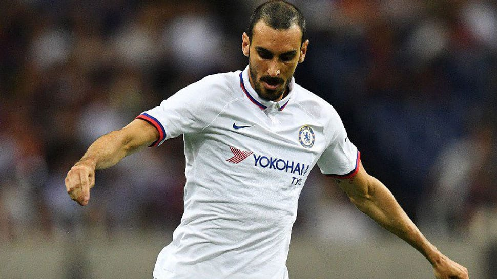 Chelsea right-back Davide Zappacosta joins Roma on loan