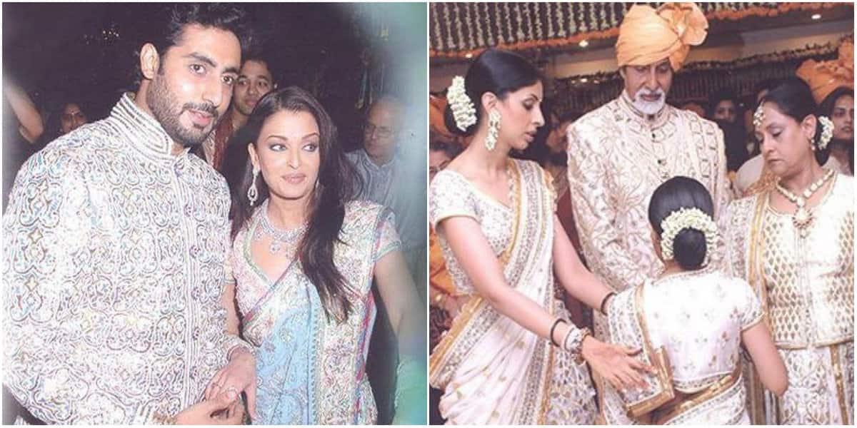 Unseen pics from Aishwarya Rai Bachchan and Abhishek Bachchan's wedding in Mumbai