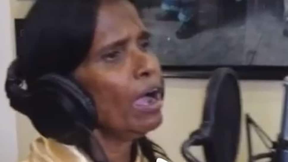 Viral singing sensation Ranu Mondal records her first song for Himesh Reshammiya