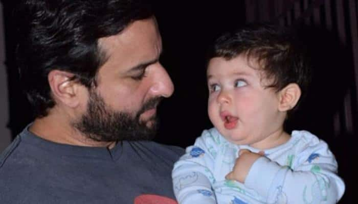 Saif Ali Khan scolds paparazzi for clicking Taimur Ali Khan's pictures