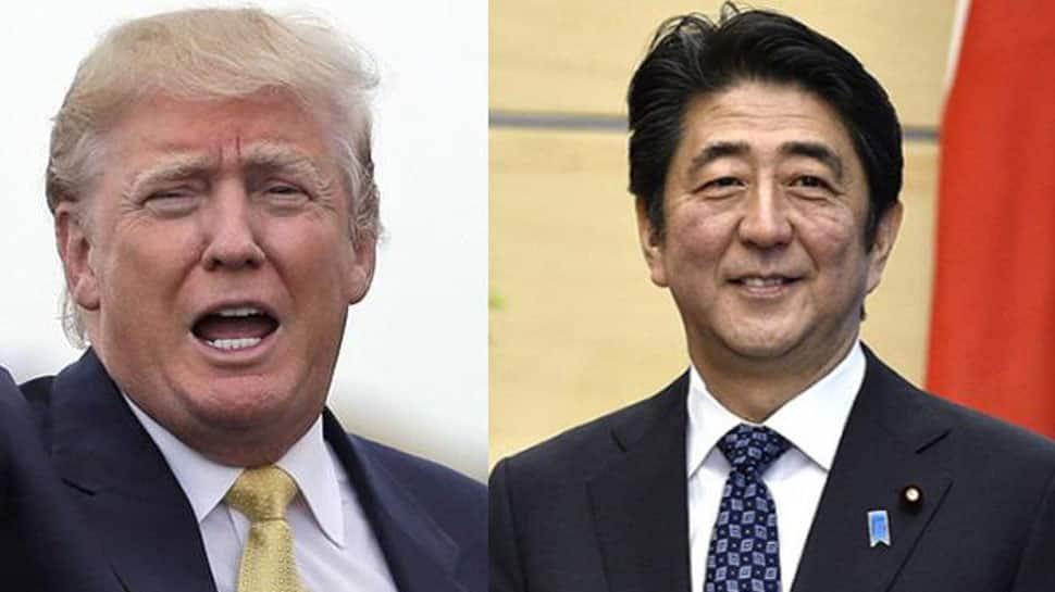 US President Trump, Japan PM Abe at odds on North Korea missile launches