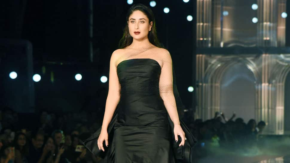 LFW 2019: Kareena Kapoor turns femme fatale as she walks ramp in all-black gown