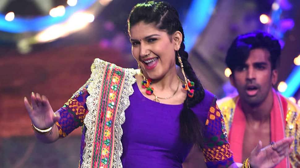 Sapna Choudhary grooves to 'Teri Aakhya Ka Yo Kajal' song with 'bedhadak' girl Gudiya—Watch