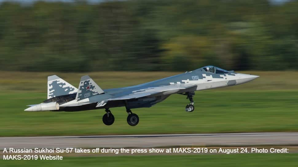 Sukhoi Su-57E to be unveiled on Tuesday, Russia keen to sell the fighter to IAF