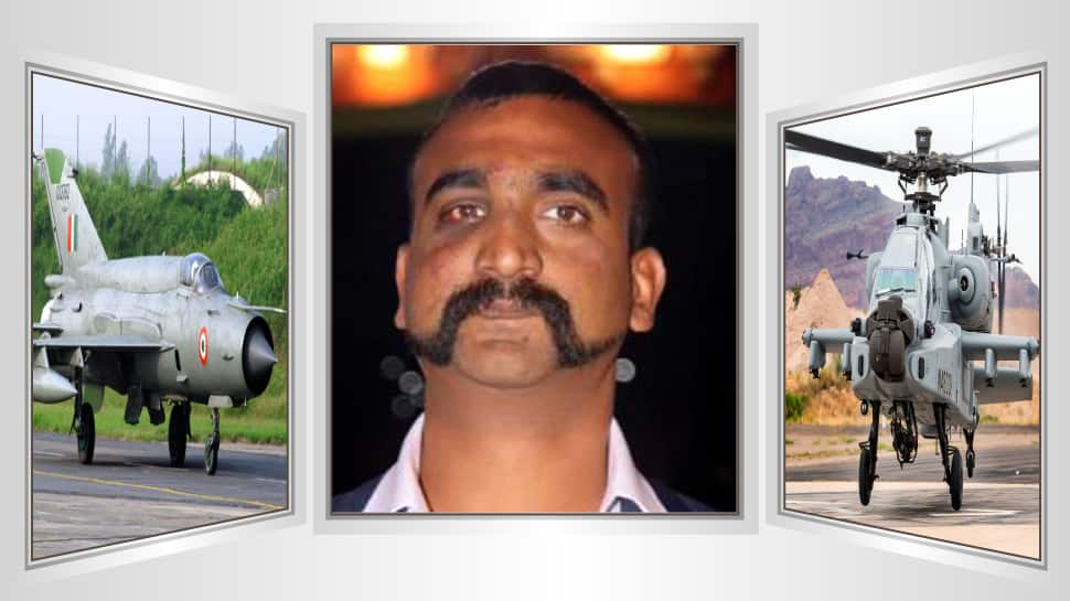 IAF Wing Commander Abhinandan Varthaman to fly MiG-21 during AH-64E Apache Guardian induction ceremony