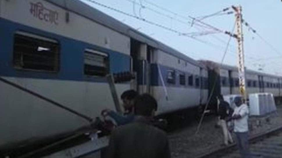 Four coaches of a train derail at Kanpur Central railway station, no injuries reported