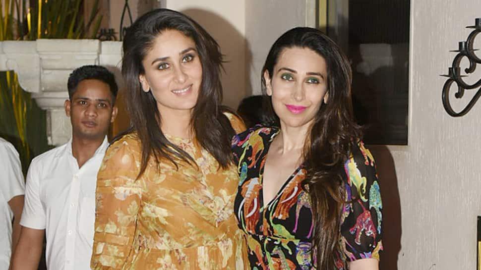 Kareena, Karisma spotted at Sonam Kapoor's residence late night—Photos