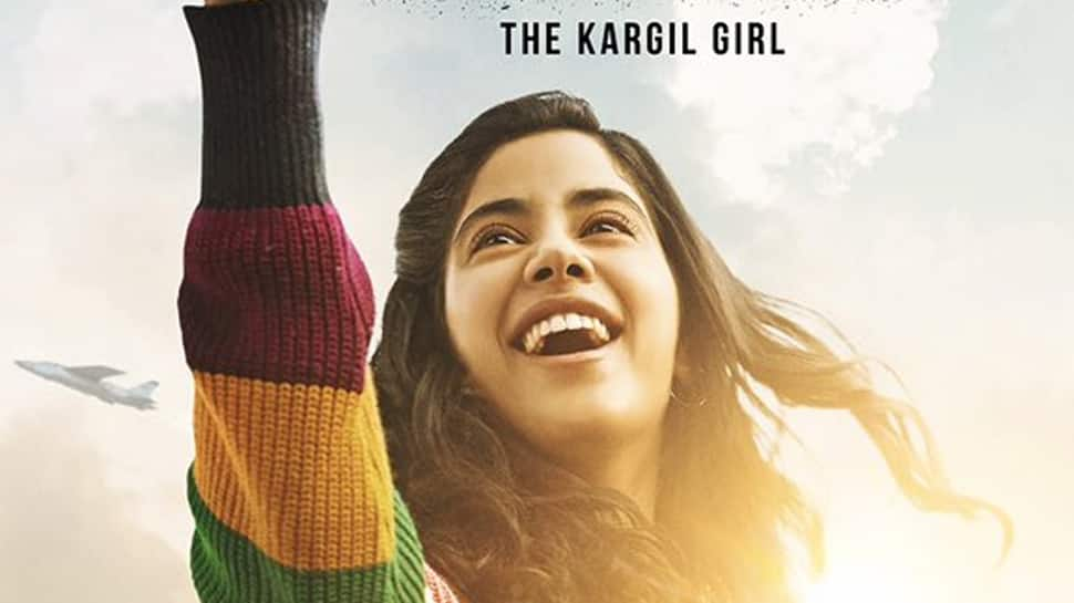 Janhvi Kapoor takes a flying start in and as 'Gunjan Saxena—The Kargil Girl—First look out!