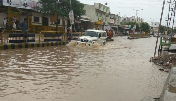 Rains continue lashing Gujarat, Rajasthan, and Chhattisgarh