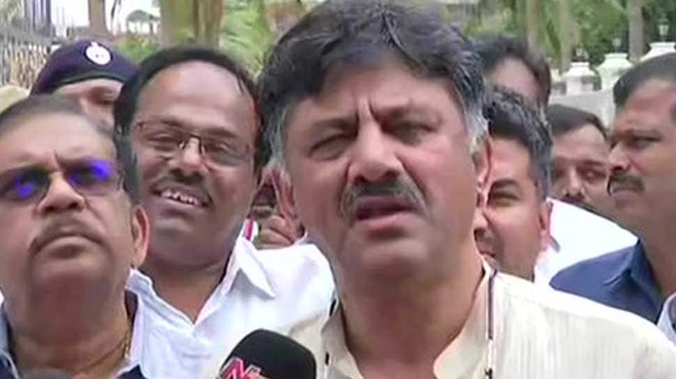 Ahead of questioning by ED, Congress leader DK Shivakumar calls I-T raids 'politically motivated'