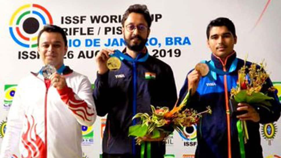 ISSF World Cup: Abhishek Verma shoots gold, Saurabh Chaudhary settles for bronze in 10m air pistol